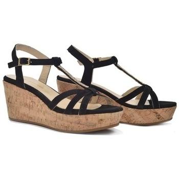 Zapatos Mujer Sandalias Alpe BLACK Negro
