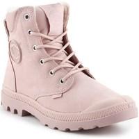 Zapatos Mujer Botas de caña baja Palladium Manufacture Pampa Sport Rosa