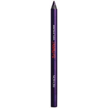 Belleza Mujer Lápiz de ojos Revlon So Fierce Vinyl Eye Liner powerful Plum-blackened Violet 1 u