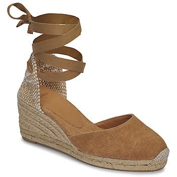 Zapatos Mujer Sandalias Castaner CARINA Camel