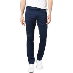 textil Hombre pantalones chinos Dockers ALPHA ORIGINAL SKINNY PEMBROKE TWILL Azul
