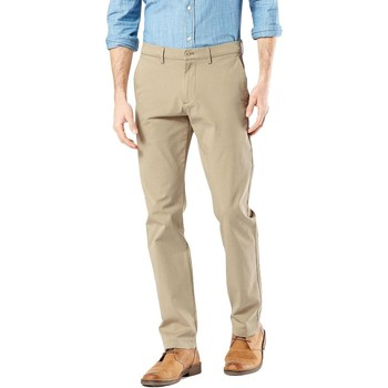 textil Hombre Pantalones chinos Dockers SMART 360 CHINO Beige