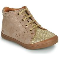Zapatos Niña Botas de caña baja GBB NAHIA Beige / Oro