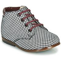Zapatos Niña Botas de caña baja GBB TACOMA Negro / Blanco