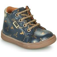 Zapatos Niña Botas de caña baja GBB FAMIA Azul / Oro