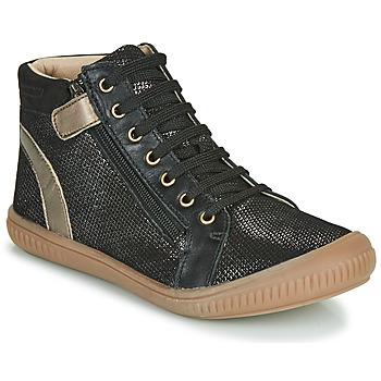 Zapatos Niña Zapatillas altas GBB RACHIDA Negro