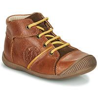 Zapatos Niño Botas de caña baja GBB OULOU Marrón