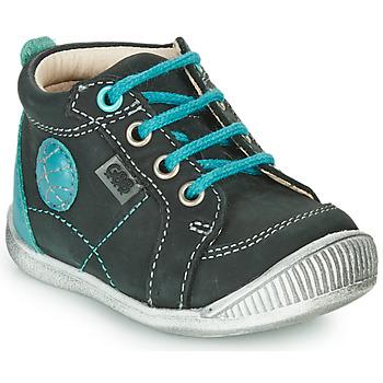 Zapatos Niño Botas de caña baja GBB OLAN Negro / Azul