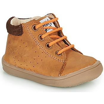 Zapatos Niño Botas de caña baja GBB FOLLIO Marrón