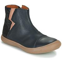 Zapatos Niña Botas de caña baja GBB SAVERIA Marino / Rosa