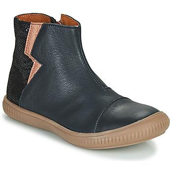 Zapatos Niña Botas de caña baja GBB SAVERIA Marino