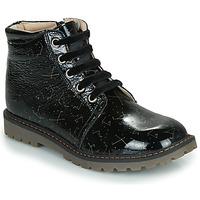 Zapatos Niña Botas de caña baja GBB NAREA Negro
