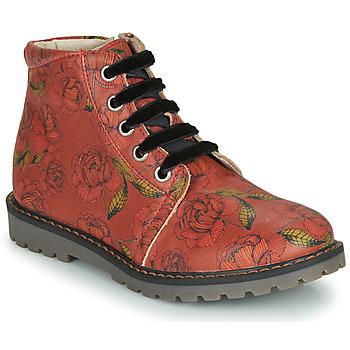 Zapatos Niña Botas de caña baja GBB NAREA Rojo