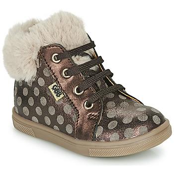 Zapatos Niña Zapatillas altas GBB JUNA Marrón