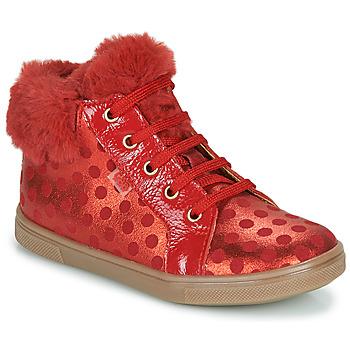 Zapatos Niña Zapatillas altas GBB JUNA Rojo