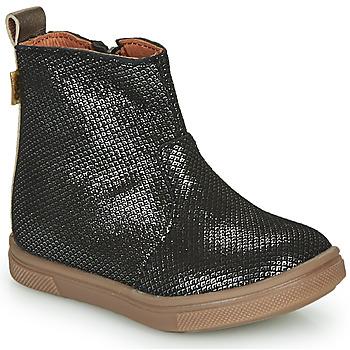 Zapatos Niña Botas de caña baja GBB ERNA Negro
