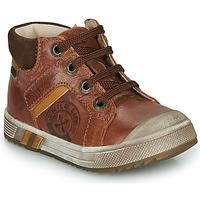 Zapatos Niño Zapatillas altas GBB OLANGO Marrón