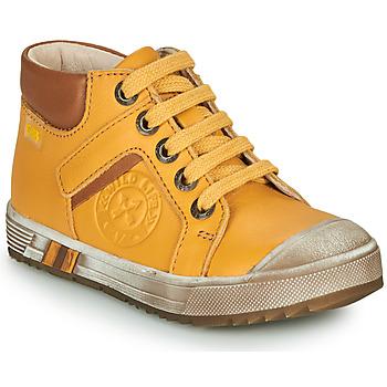 Zapatos Niño Zapatillas altas GBB OLANGO Amarillo
