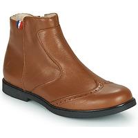 Zapatos Niña Botas de caña baja GBB NOUGATINE Marrón