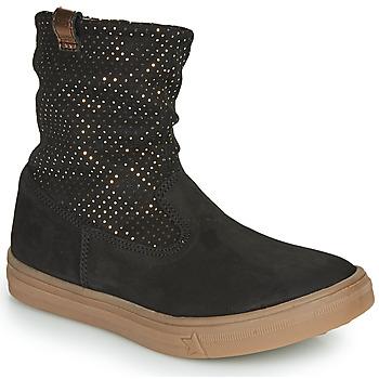 Zapatos Niña Botas urbanas GBB KINGA Negro