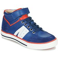 Zapatos Niño Zapatillas altas GBB ALIMO Azul