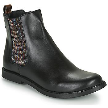 Zapatos Niña Botas de caña baja GBB ARANA Negro