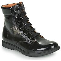 Zapatos Niña Botas de caña baja GBB JAMILA Negro