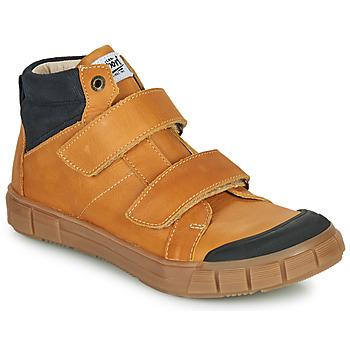 Zapatos Niño Zapatillas altas GBB HENI Cognac