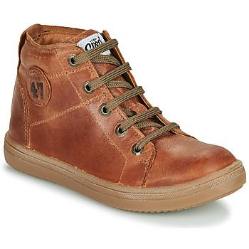 Zapatos Niño Zapatillas altas GBB KELIG Marrón