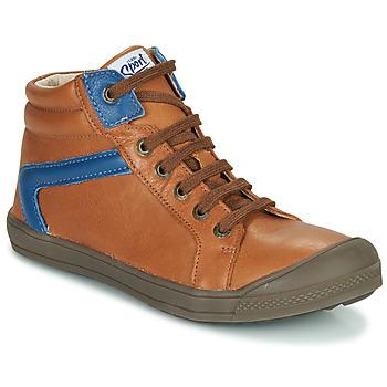 Zapatos Niño Zapatillas altas GBB IWEN Marrón