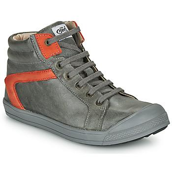 Zapatos Niño Zapatillas altas GBB IWEN Gris