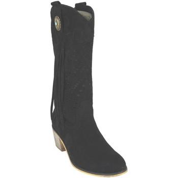 Zapatos Mujer Botas urbanas Flyfor J121 Negro