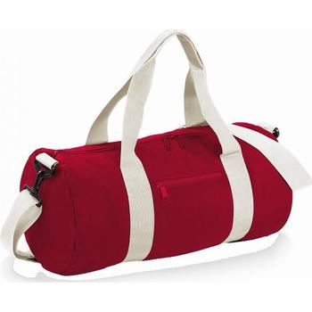 Bolsos Bolso de viaje Bagbase BG140 Rojo/blanco