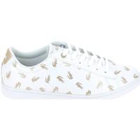 Zapatos Niños Zapatillas bajas Lacoste Carnaby Evo C Blanc Or Blanco