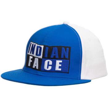 Accesorios textil Gorra The Indian Face Gorra Santa Cruz Azul y Blanca Azul