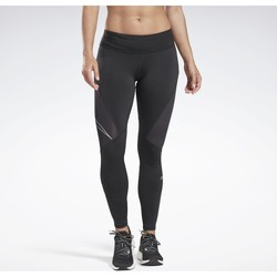 textil Mujer Leggings Reebok Sport Mallas One Series Running Logo Reflective Noir