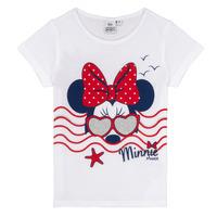 textil Niña camisetas manga corta TEAM HEROES MINNIE Blanco