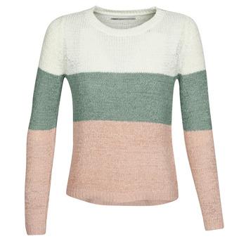 textil Mujer jerséis Only ONLGEENA Beige / Rosa