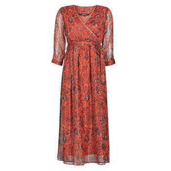 textil Mujer vestidos largos Vero Moda VMGLAMMY Rojo