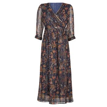 textil Mujer vestidos largos Vero Moda VMGLAMMY Marino
