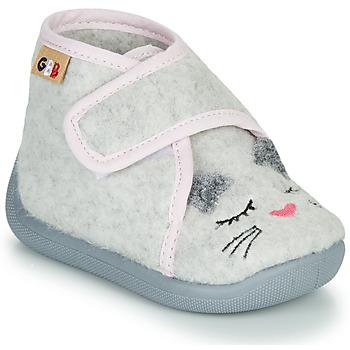 Zapatos Niña Pantuflas GBB HELORIE Gris