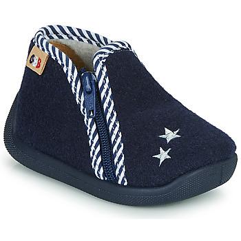 Zapatos Niños Pantuflas GBB KITRA Azul