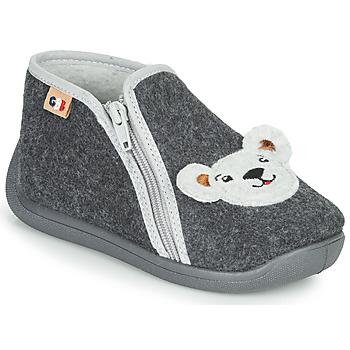 Zapatos Niño Pantuflas GBB KITRA Gris