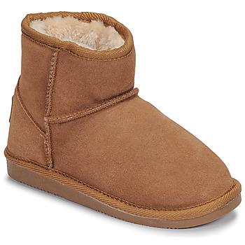 Zapatos Niña Botas de caña baja Les Tropéziennes par M Belarbi FLOCON Camel