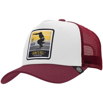 Accesorios textil Gorra The Indian Face Born to Roll White / Red Blanca