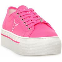 Zapatos Mujer Zapatillas bajas Windsor Smith RUBY CANVAS NEON PINK Rosa