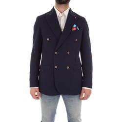textil Hombre Chaquetas / Americana Mulish ASTONMARTIN-GKS907 azul