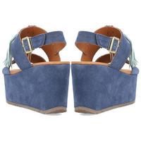 Zapatos Mujer Sandalias Alpe YACARE Jeans