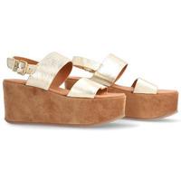 Zapatos Mujer Sandalias Alpe YACARE Platino