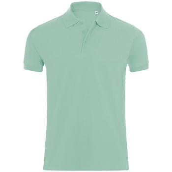 textil Hombre Polos manga corta Sols PHOENIX MEN SPORT Verde